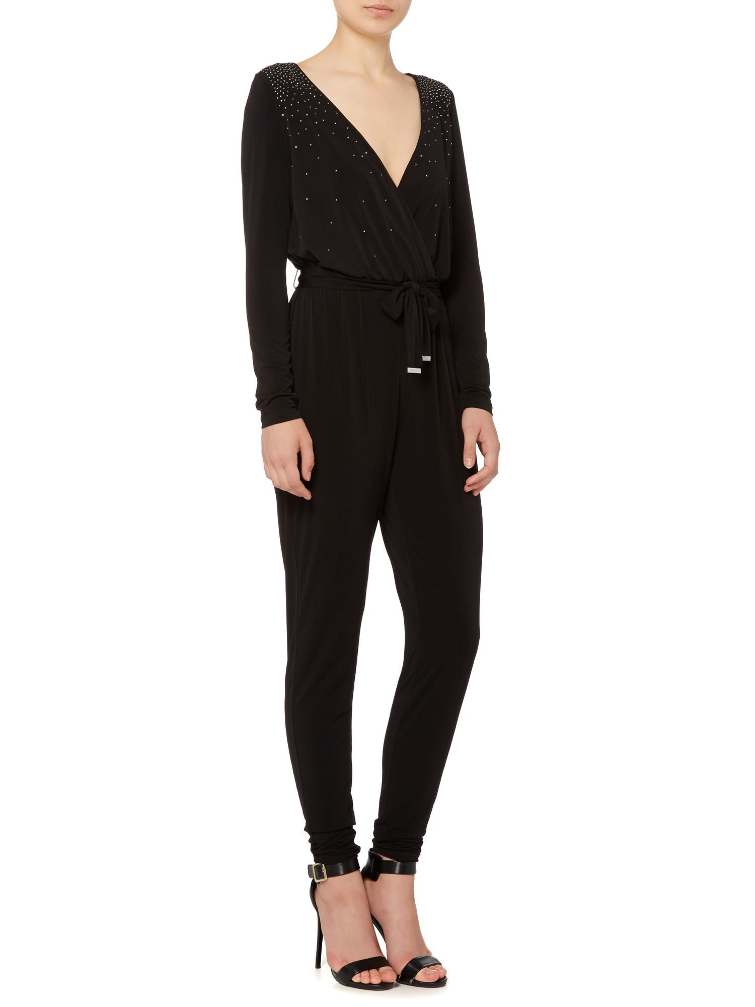 MICHAEL Michael Kors Women's Cold Shoulder Ruffled Long Sleeve Romper Michael Kors Women's Mesh Jumpsuit (M, Black/White) $ 48 iTLOTL. Summer Women Off Shoulder Printed Beach Jumpsuit Ladies Beach Romper Trousers. from $ 3 CUCUHAM. Women Summer Short Sleeve Strappy Cold Shoulder T-Shirt Tops. .