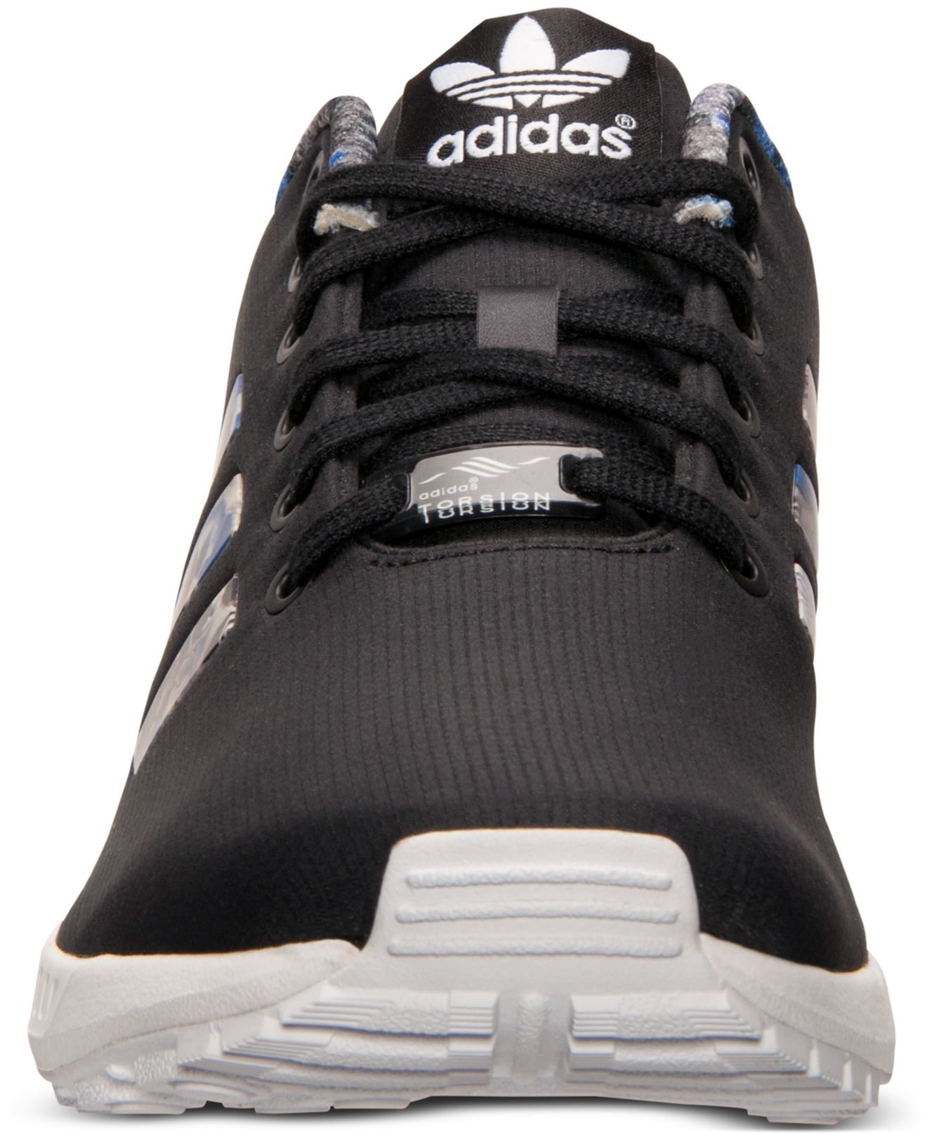 Lyst - adidas Originals Men s Zx Flux Print Running Sneakers From ... 03a8d7162803