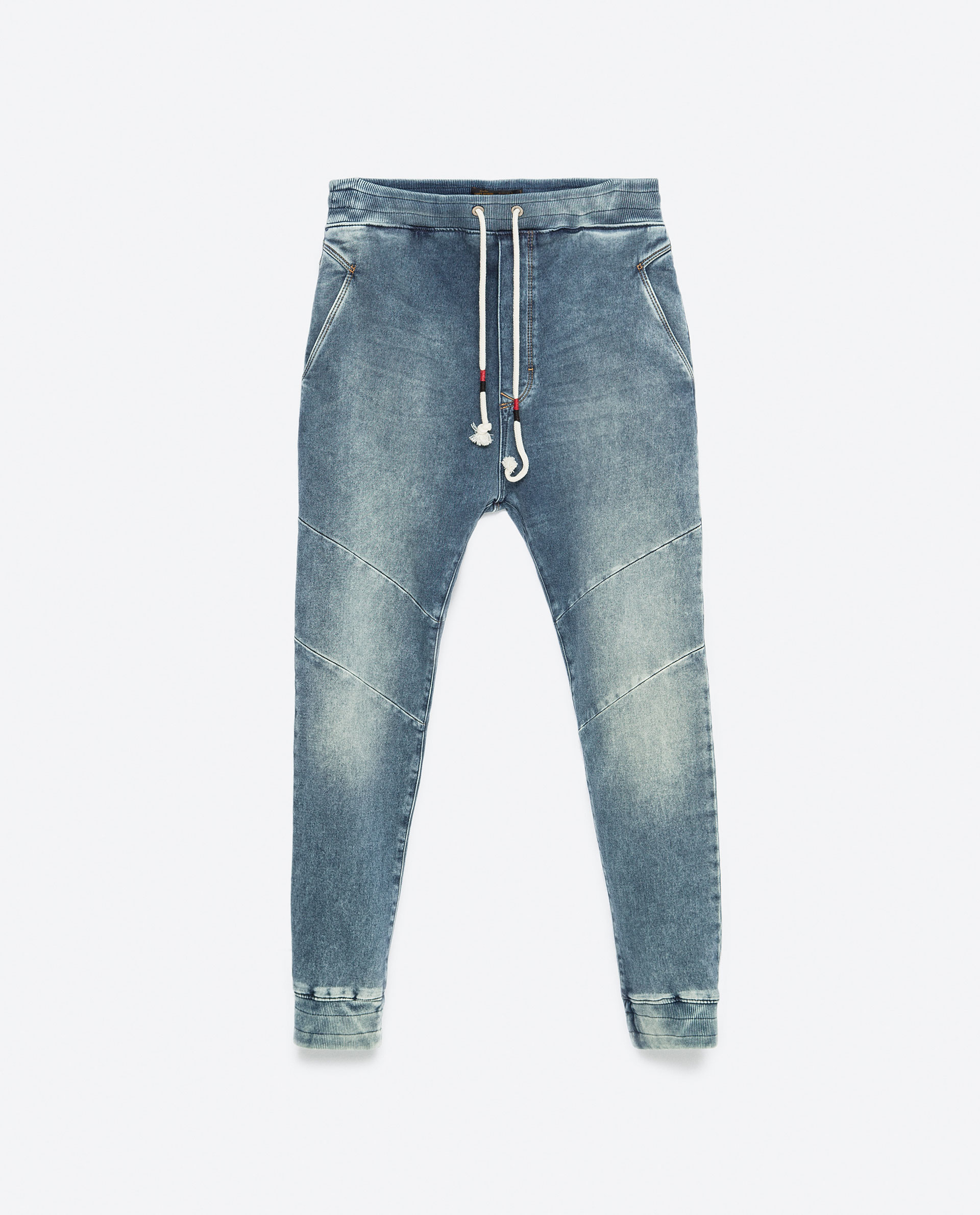 Zara Baggy Jeans in Blue for Men | Lyst