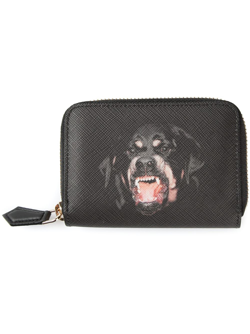 ee6399a69c Lyst - Givenchy Fierce Dog Wallet in Black