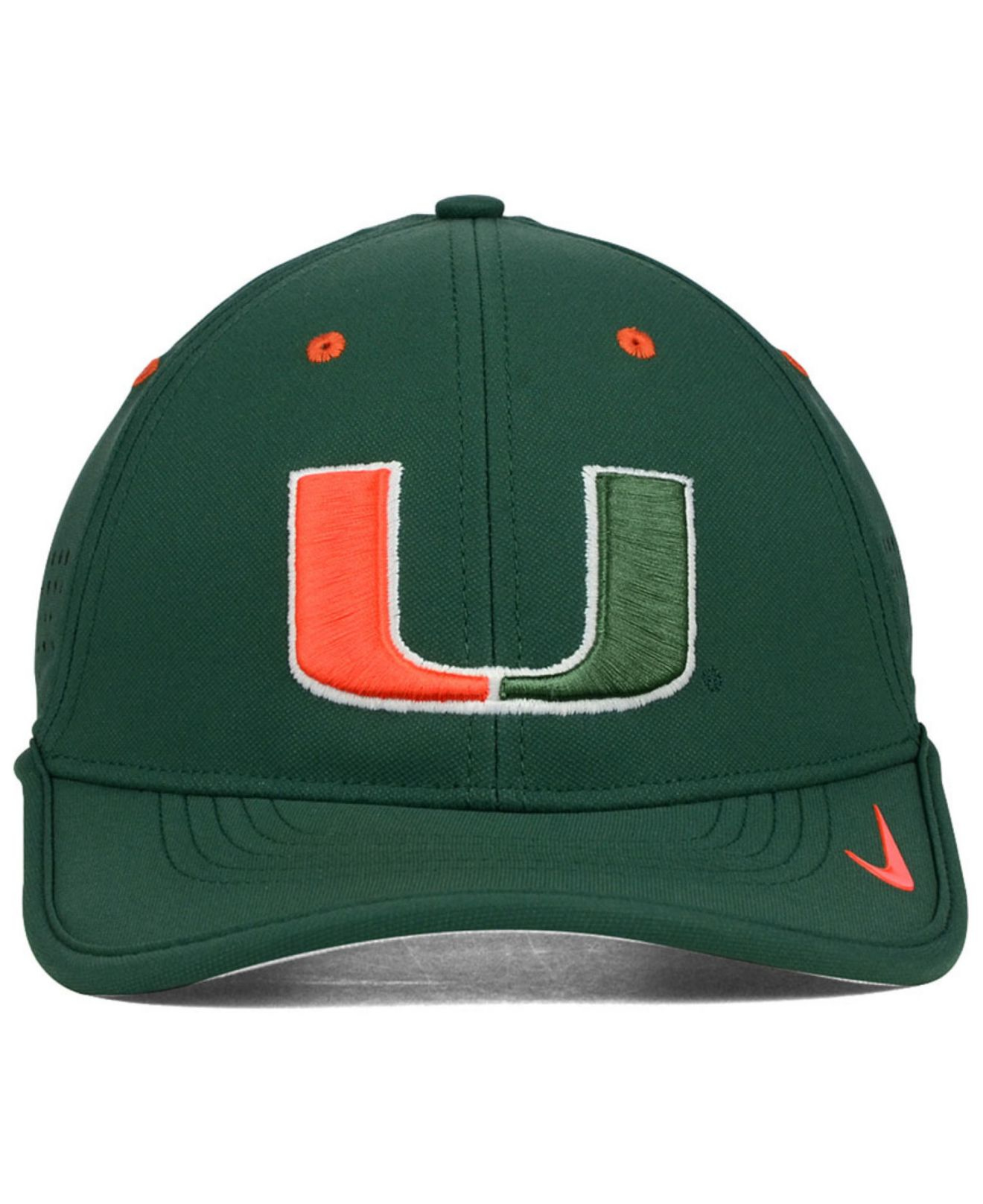 Lyst - Nike Miami Hurricanes Dri-fit Coaches Cap in Green for Men 0f4d9101960