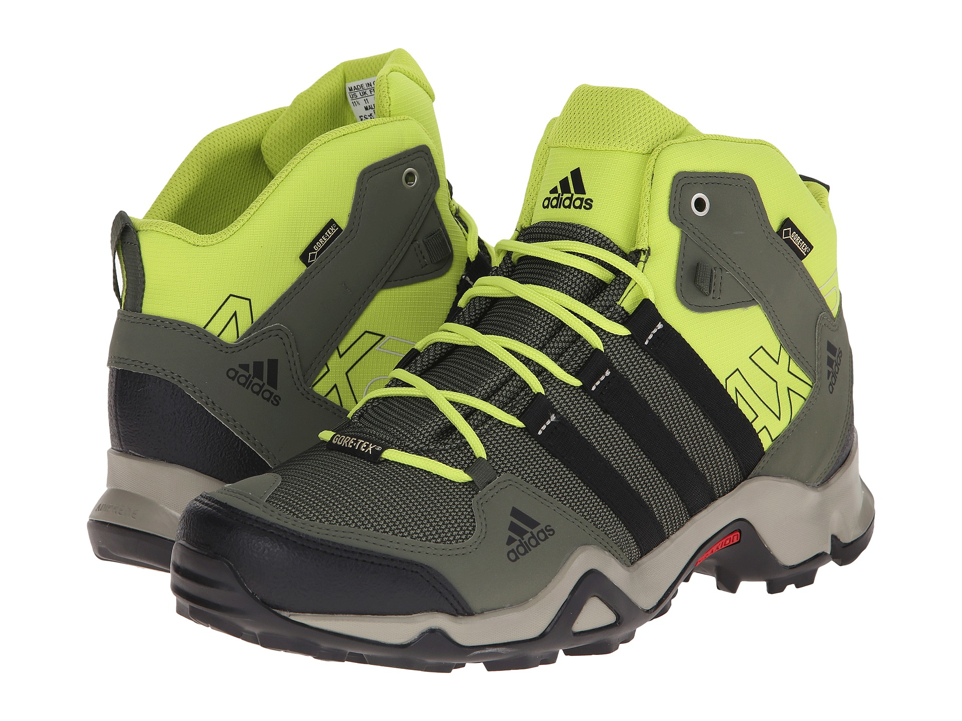 super popular 46d01 d5df7 Lyst - adidas Ax 2 Mid Gtx in Green for Men