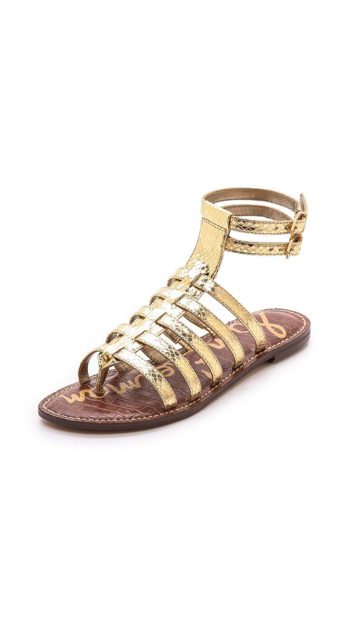 Sandals Gold Gladiator Sandals