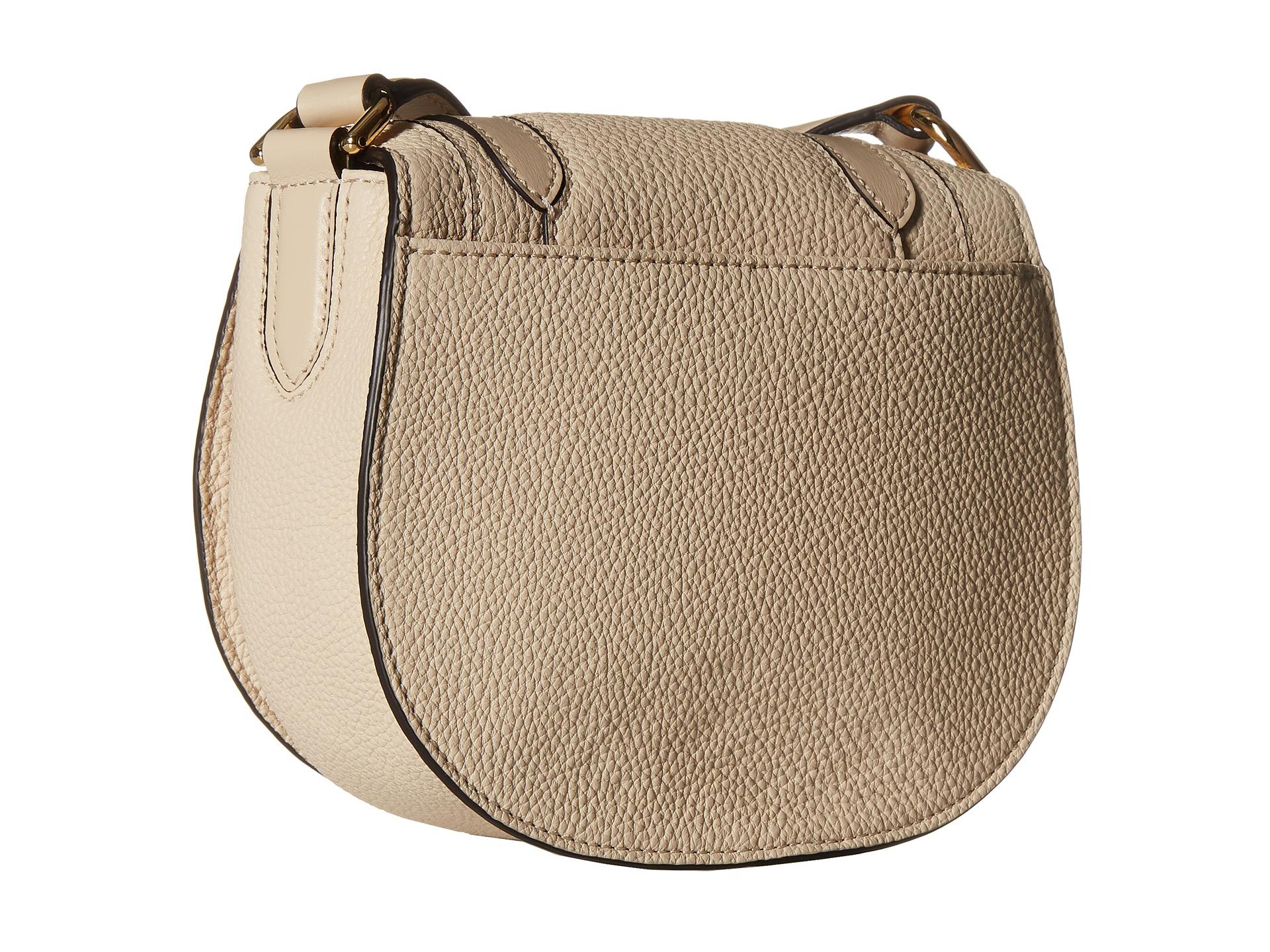 c0f88c86fda ... Bags and Designer handbags Michael kors Skorpios Small Crossbody in  Natural Lyst ...