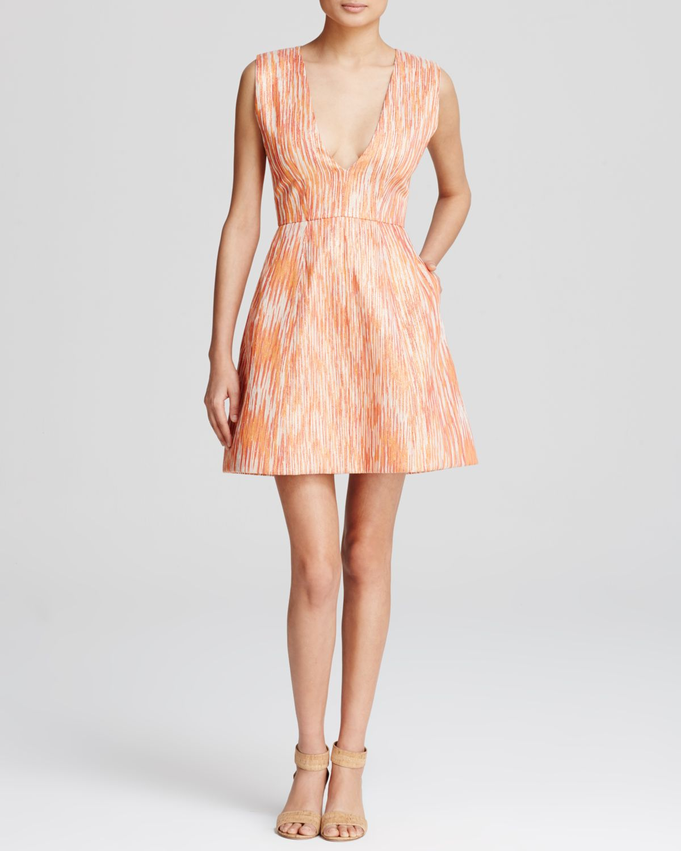 7577dcec4 Lyst - Alice + Olivia Pacey Lantern Dress