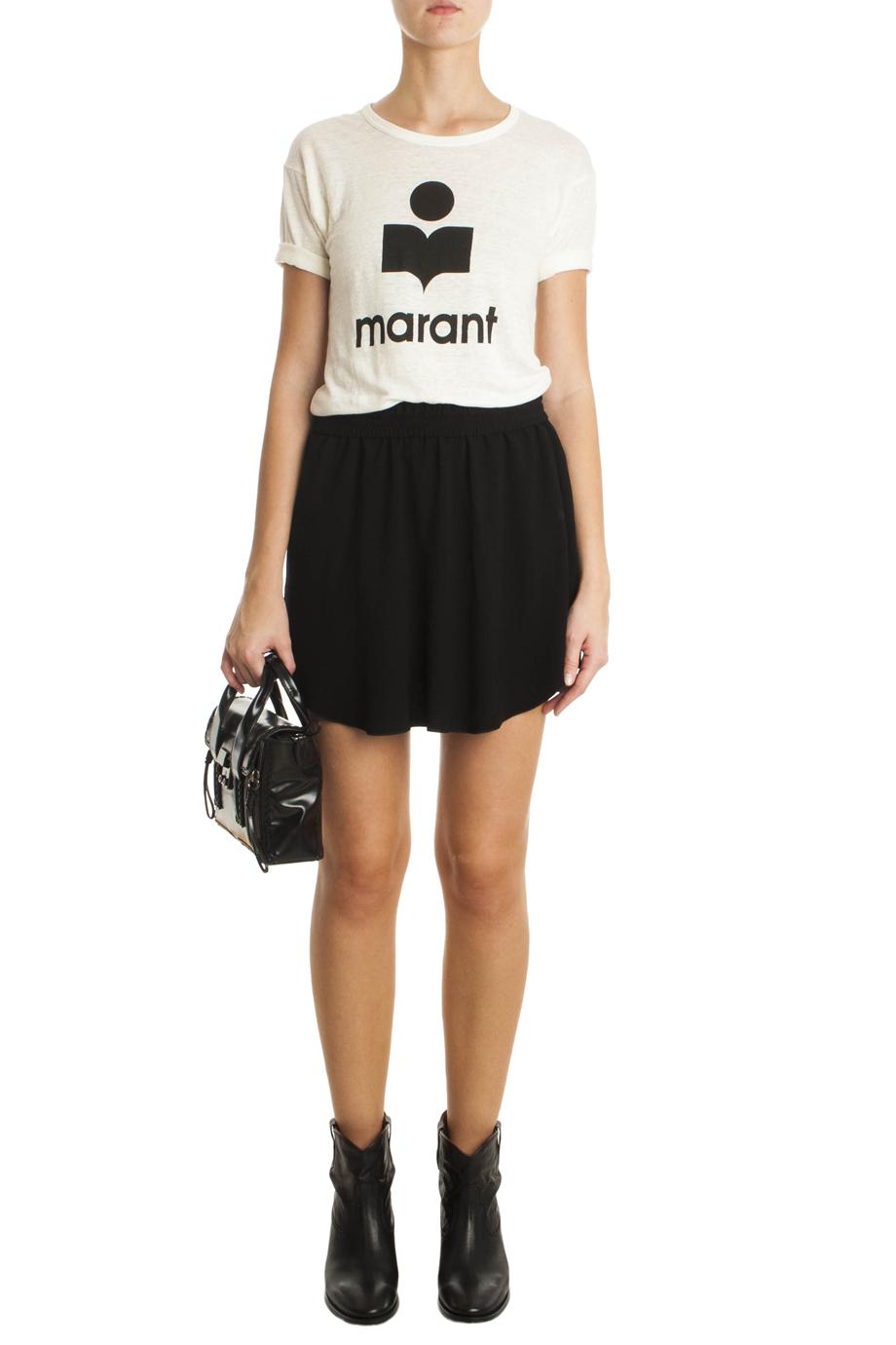 lyst toile isabel marant koldi marant t shirt in white