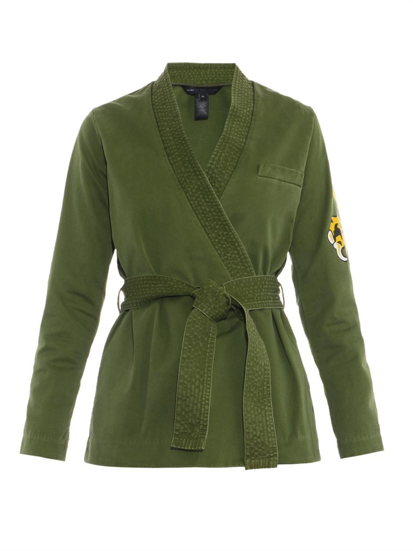 Lyst Marc By Marc Jacobs Karate Style Wrap Front Jacket