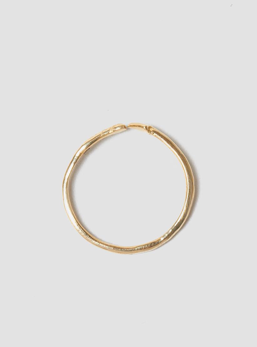 odette new york arrow band ring 14k gold in
