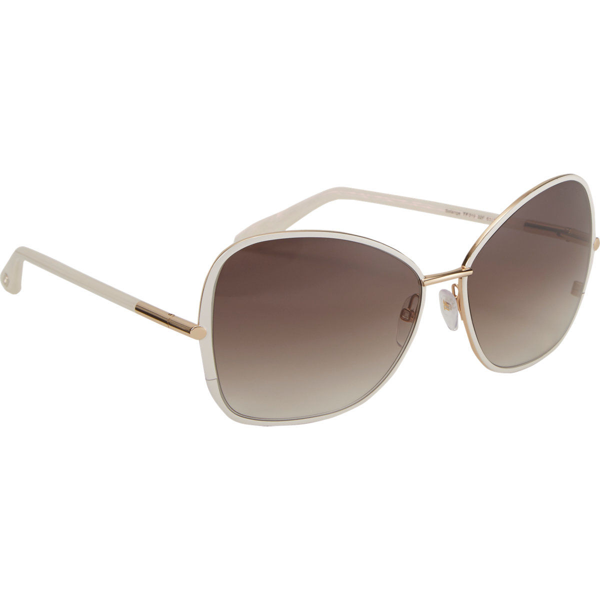 tom ford women 39 s solange sunglasses in white lyst. Cars Review. Best American Auto & Cars Review