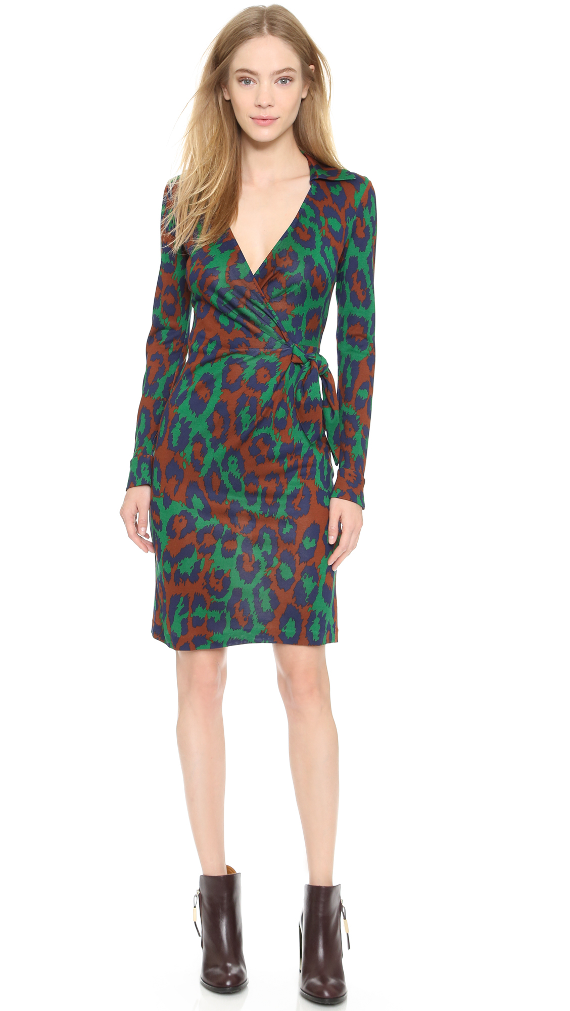 dvf wrap dress #10