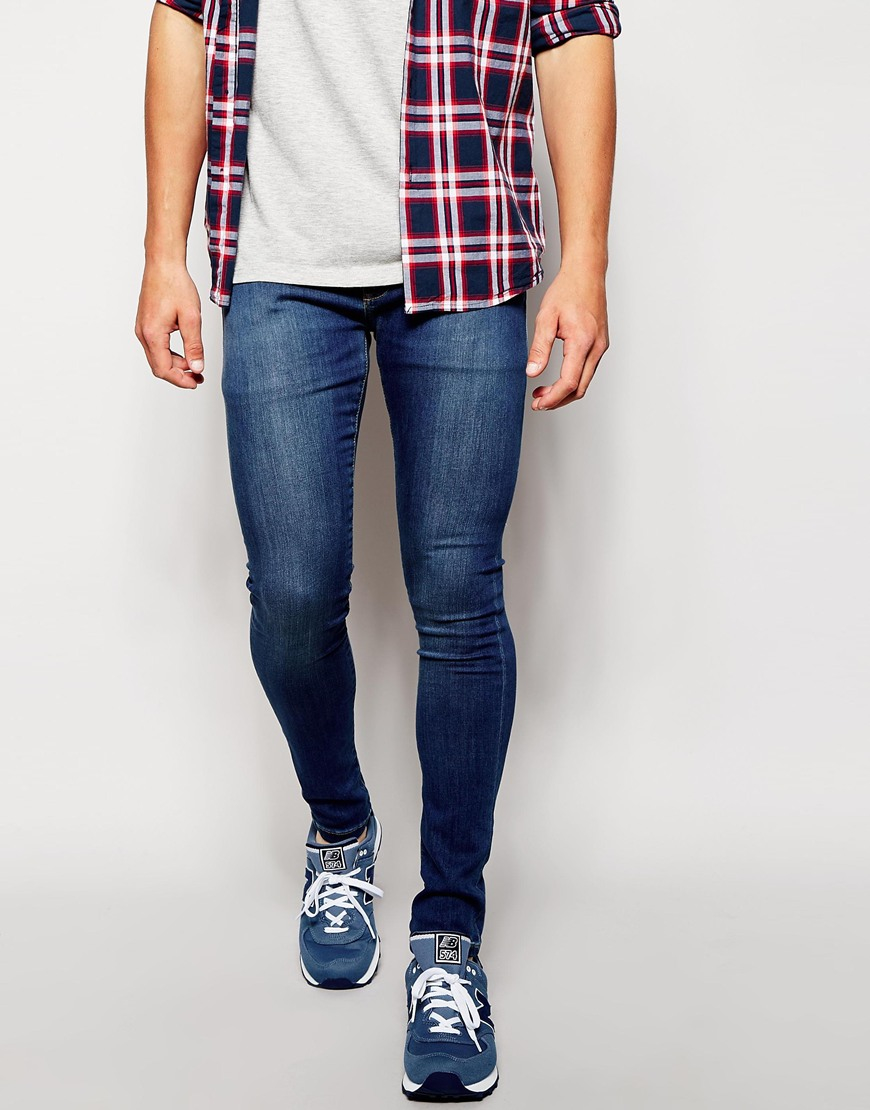 858a4b382d55 Lyst - Brooklyn Supply Co. Jeans Spray On Extreme Skinny Vintage ...