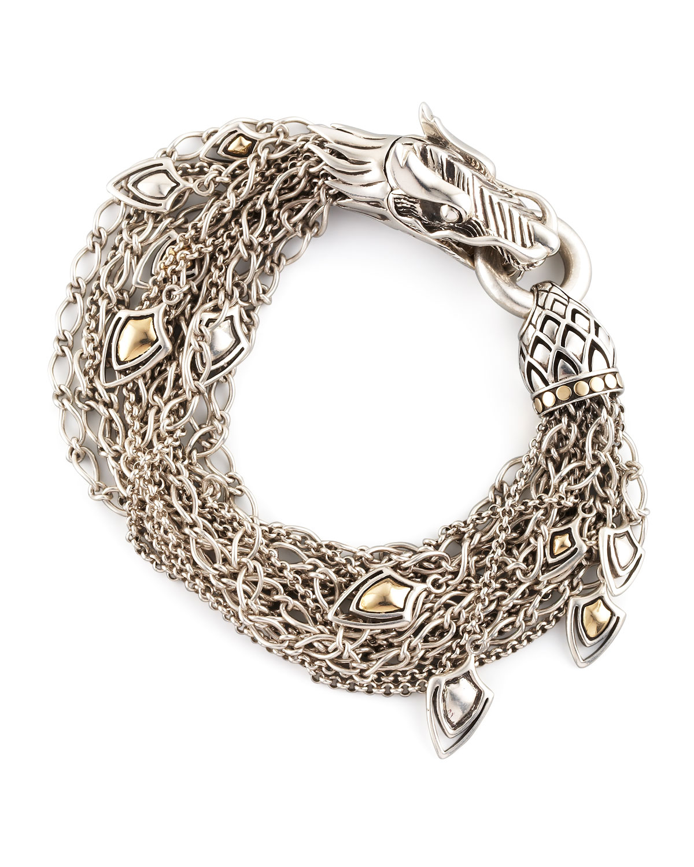 Lyst John Hardy Dragon Dangling Bracelet In Metallic