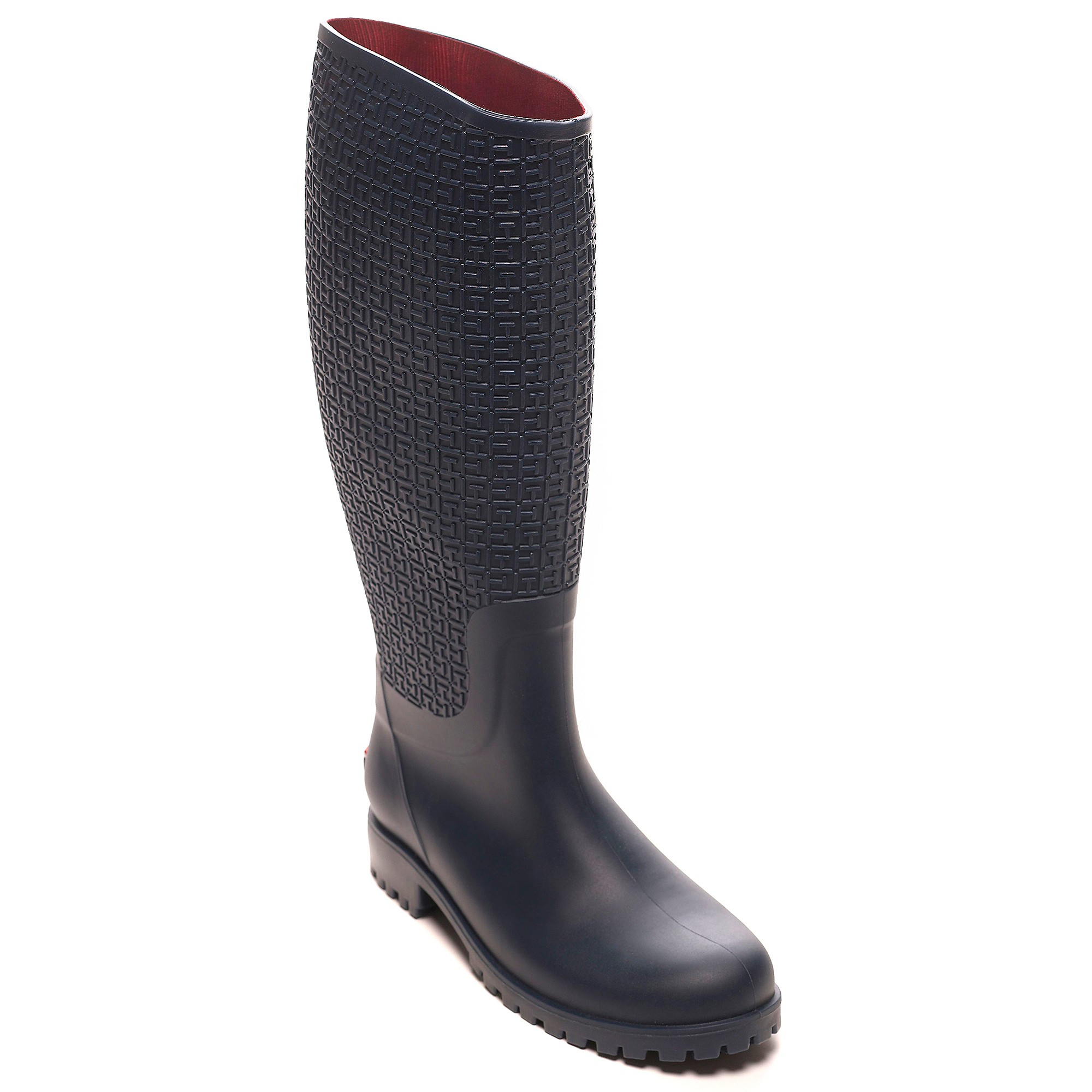 tommy hilfiger pasture rain boot in blue marine lyst. Black Bedroom Furniture Sets. Home Design Ideas