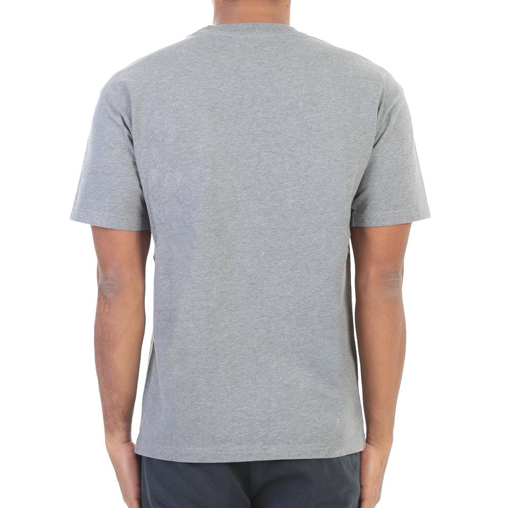 kenzo grey embroidered cotton t shirt in gray for men lyst. Black Bedroom Furniture Sets. Home Design Ideas