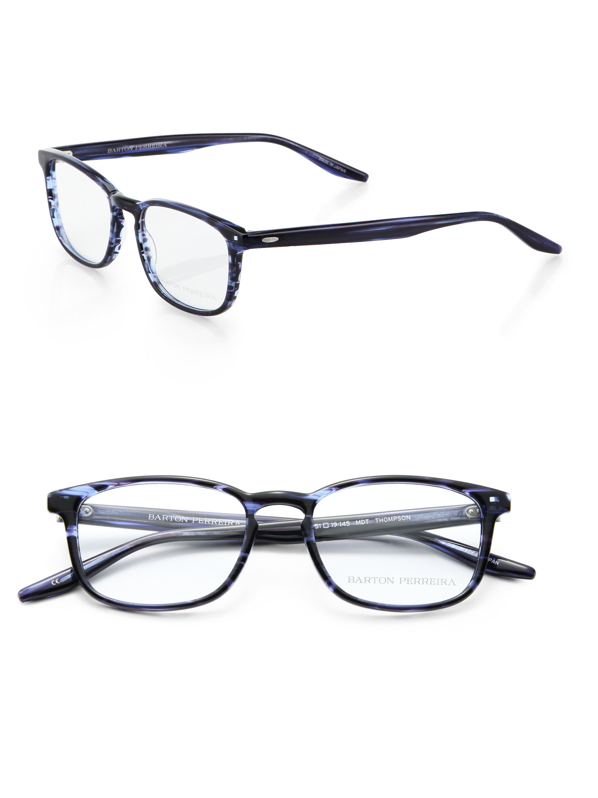 Lyst Barton Perreira Thompson Rectangle Shaped Optical