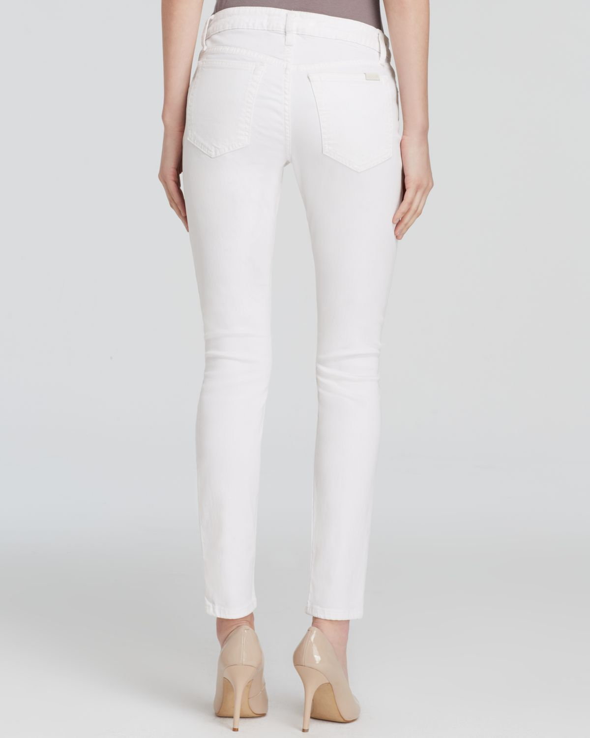 Joe's jeans - Stay Spotless Mid Rise Skinny Ankle In Annie in ...