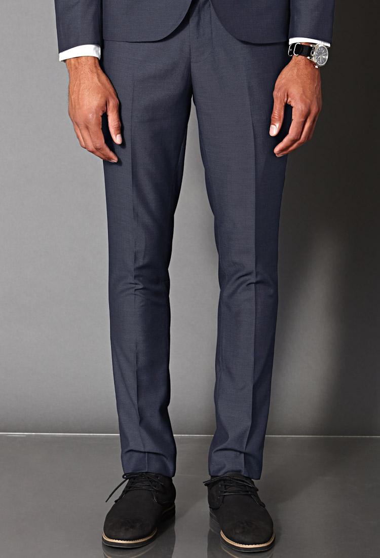 Mens Slim Fit Suit Trousers | My Dress Tip