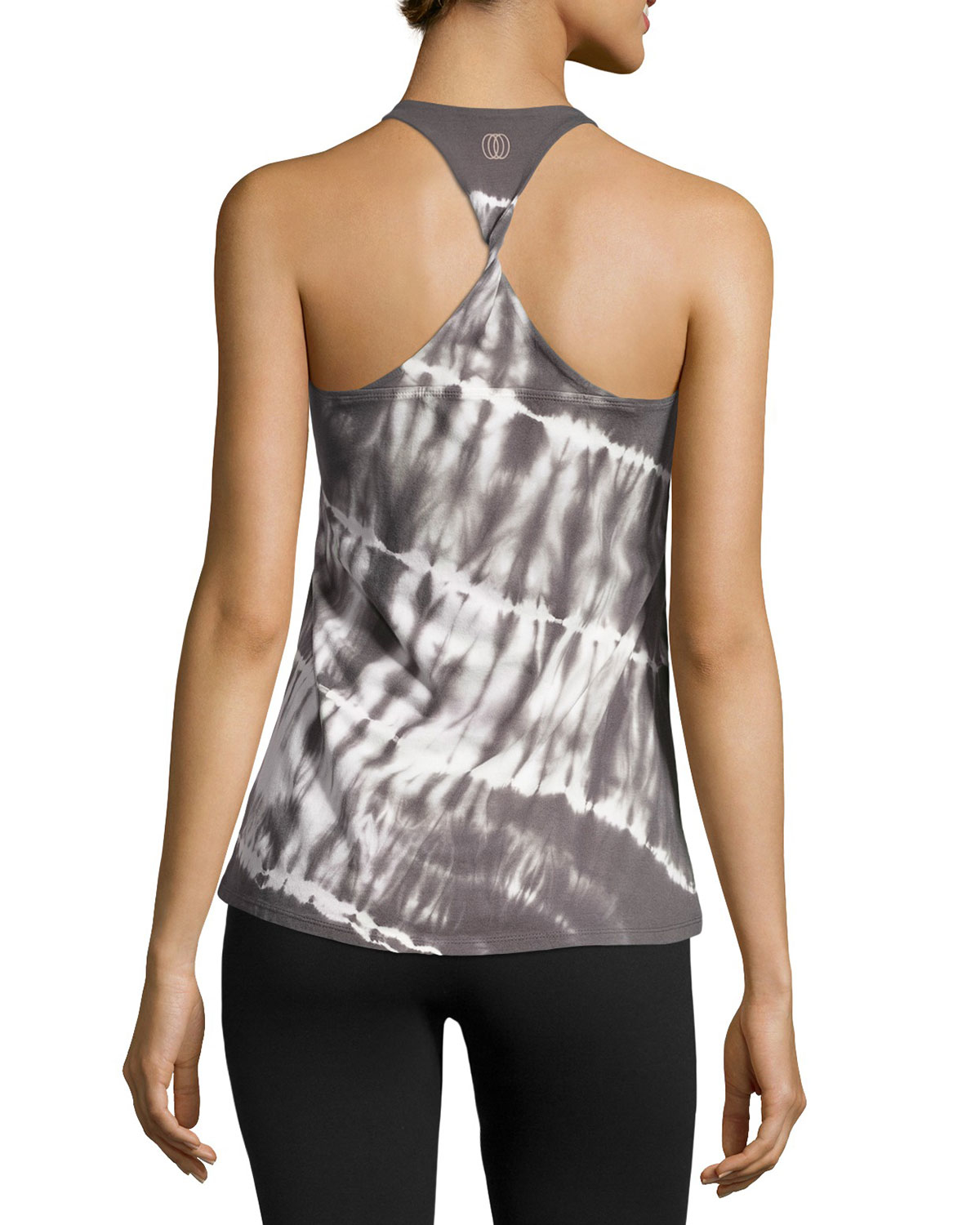 476aadc85282c Balance Collection Tie-dye Racerback Tank in Gray - Lyst