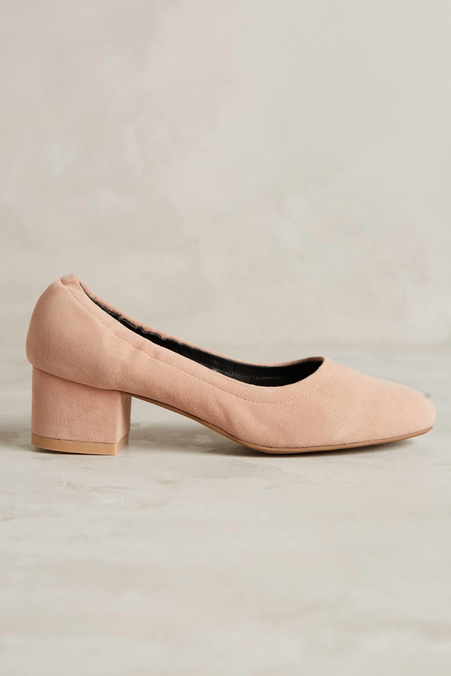 22acd1096565 Lyst - Jeffrey Campbell Bitsie Heels in Pink