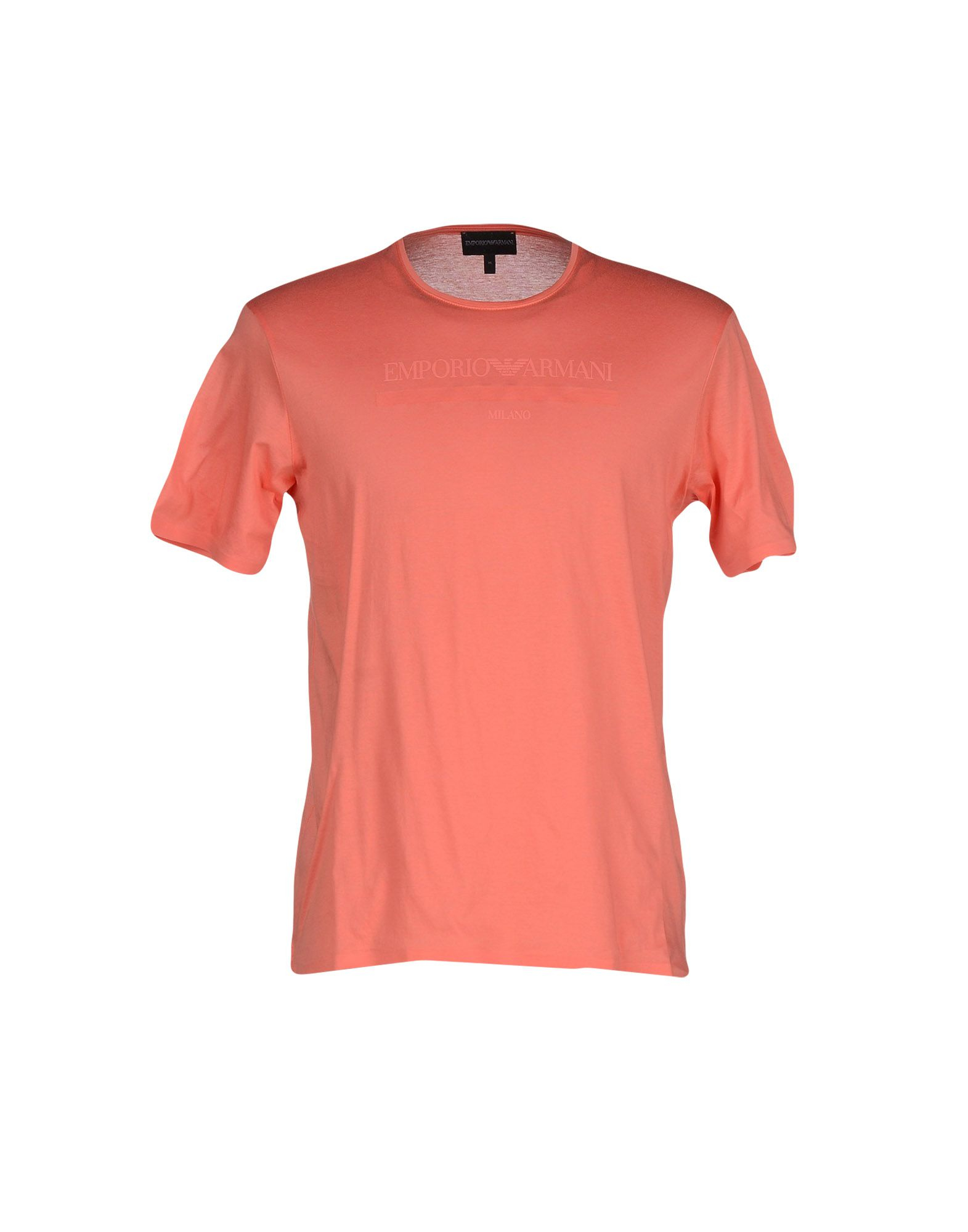 Emporio Armani T Shirt In Pink For Men Coral Save 47