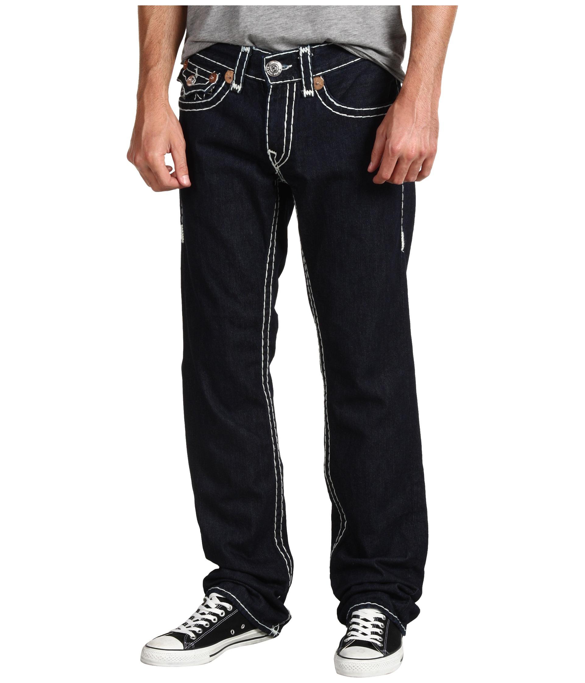 0c8ad55a True Religion Ricky Straight Super T in Body Rinse in Black for Men ...