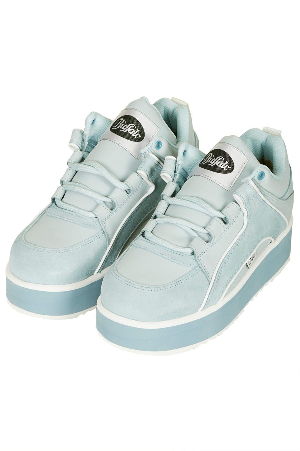 House Of Fraser Pale Blue Shoes
