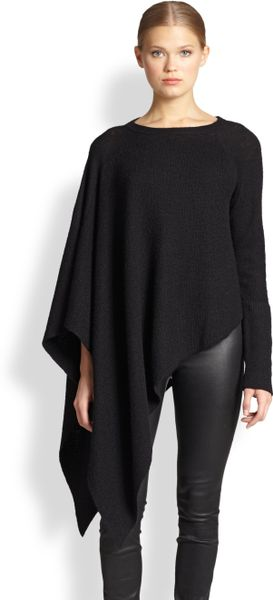 Either as cold weather cover up, or a fun top to go with leggings add a poncho to your wardrobe today!