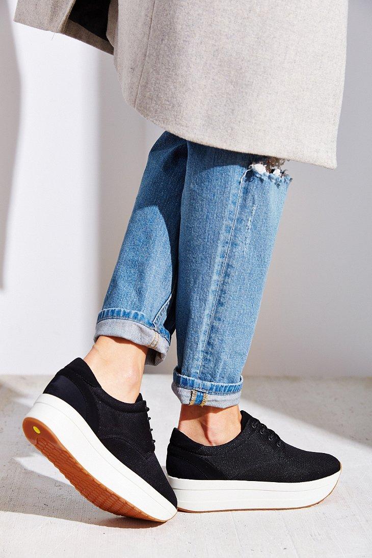 Lyst Vagabond Casey Platform Sneaker In Black
