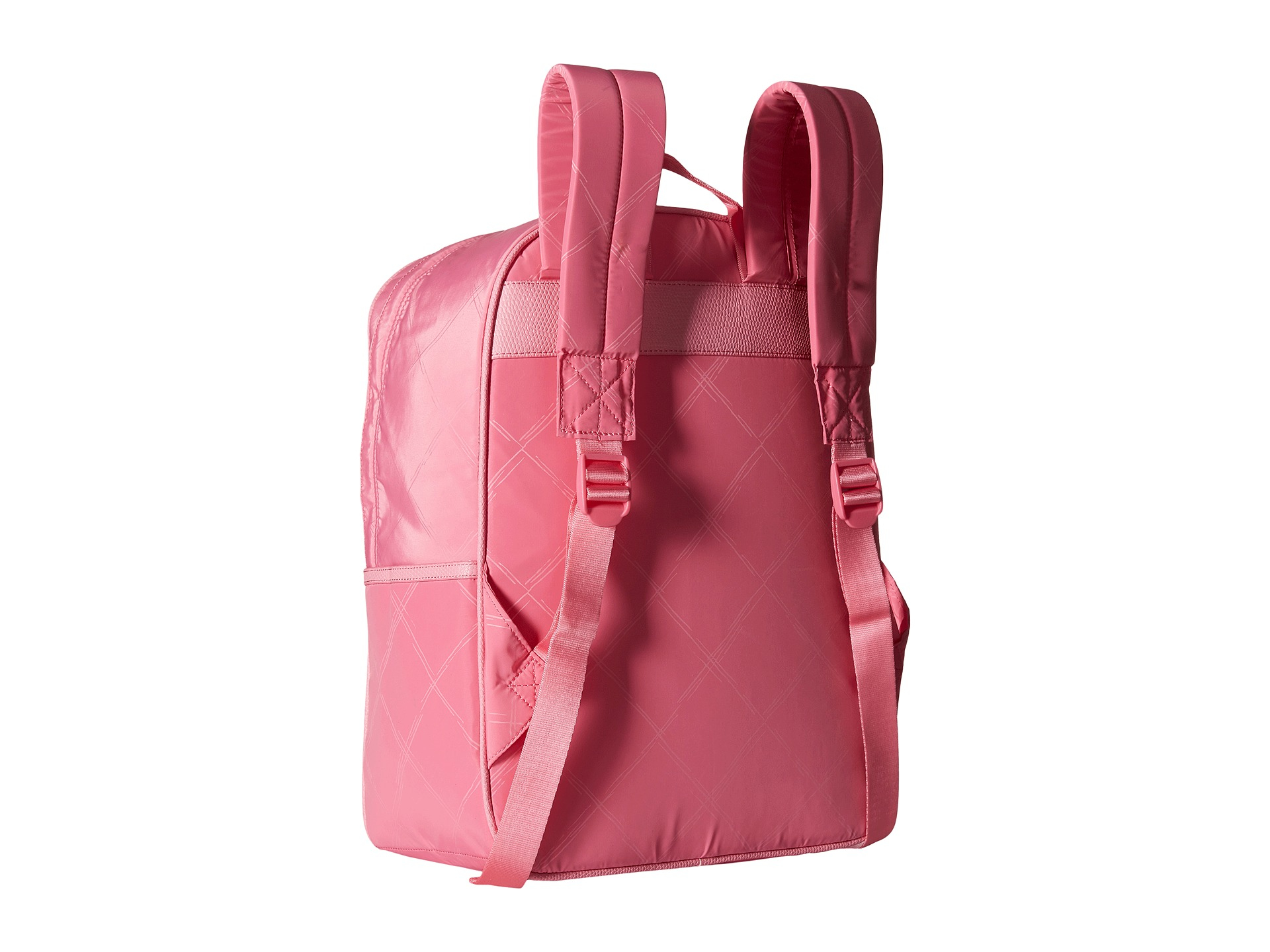 6fd13b69eb Lyst - Vera Bradley Preppy Poly Large Backpack in Pink