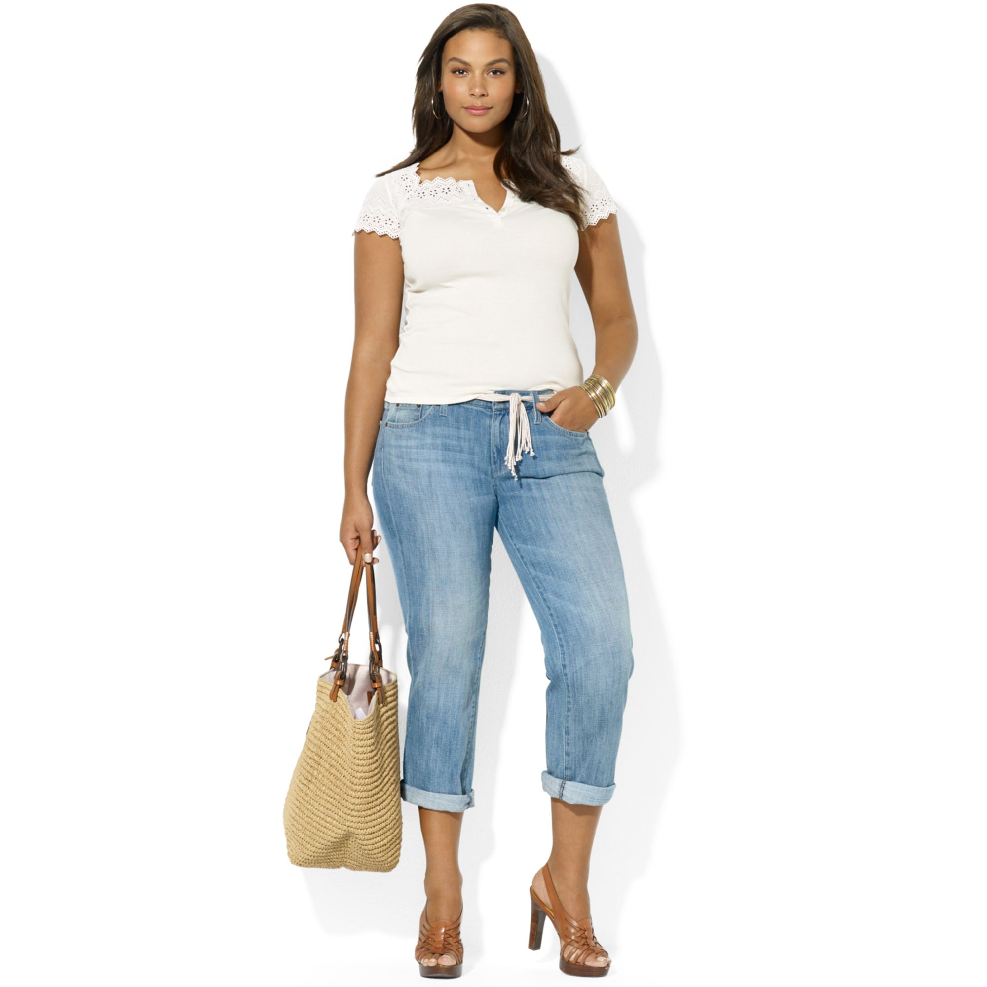 dbfb5f32157 Boyfriend Jeans For Plus Size Women