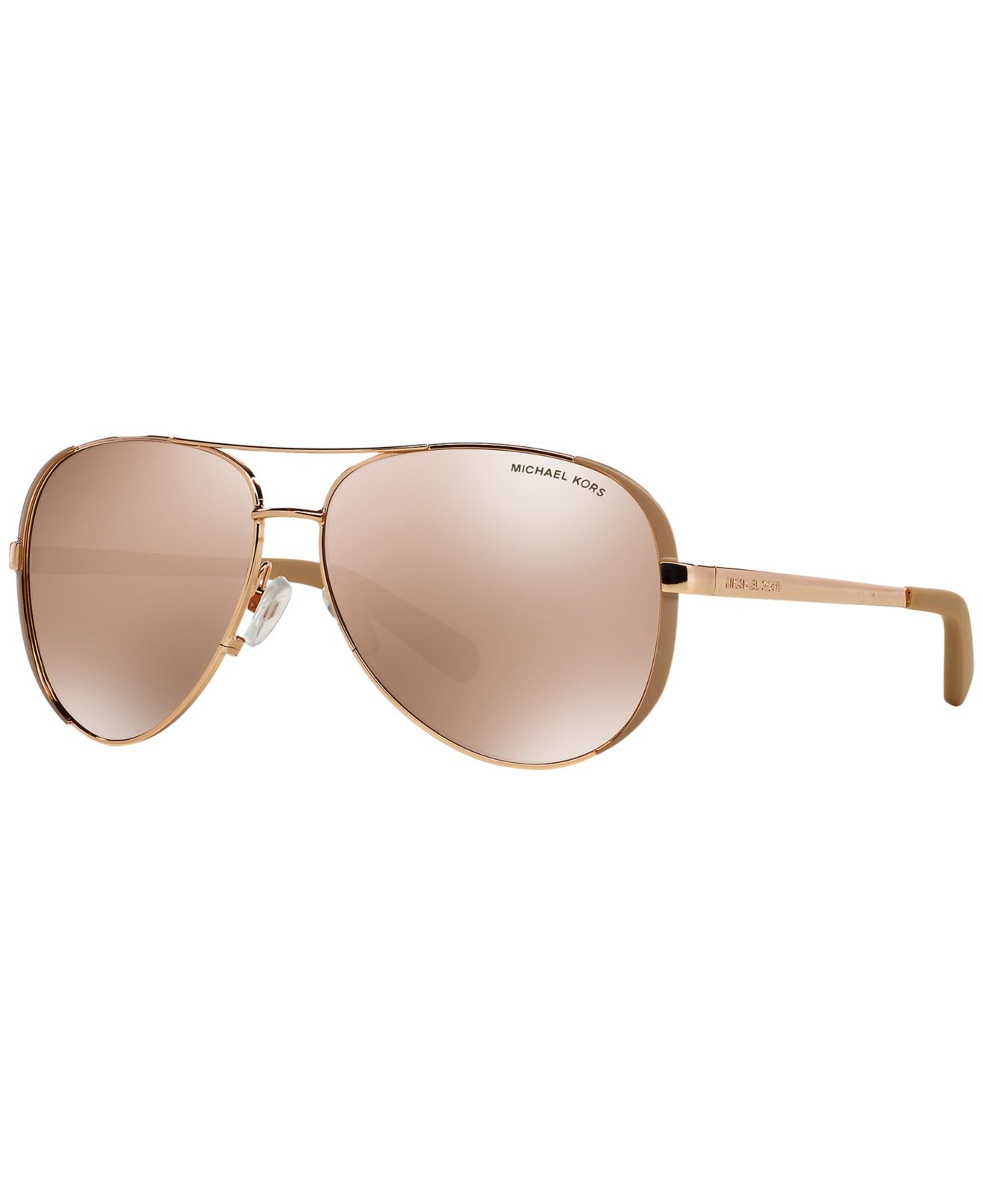 86fc6c90a9f8d Lyst - Michael Kors Mk5004 59 Chelsea in Pink