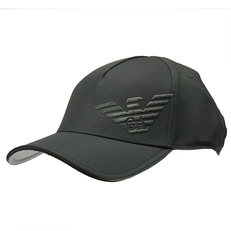 608c8e0339c Lyst - Giorgio Armani Hat Baseball Cotton Logo in Gray for Men