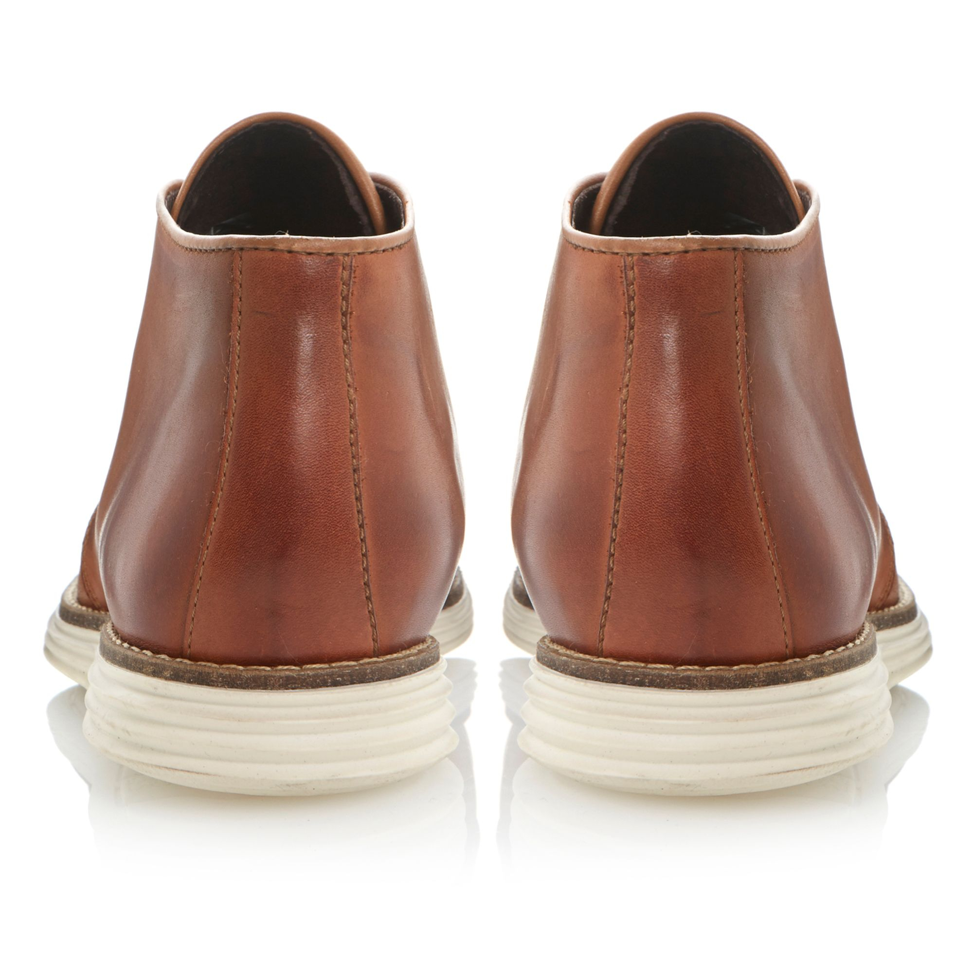 Dune Christoff Lace Up Sporty Chukka Boots in Brown for Men   Lyst