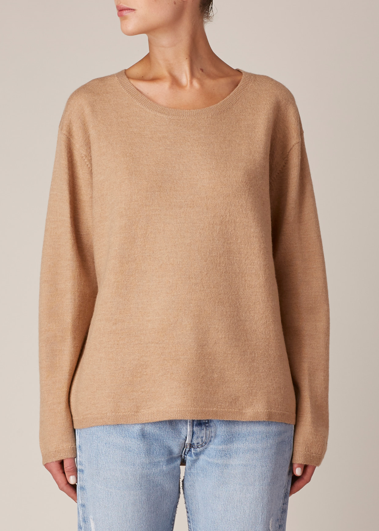 Won hundred Tan Coral Sweater in Brown | Lyst