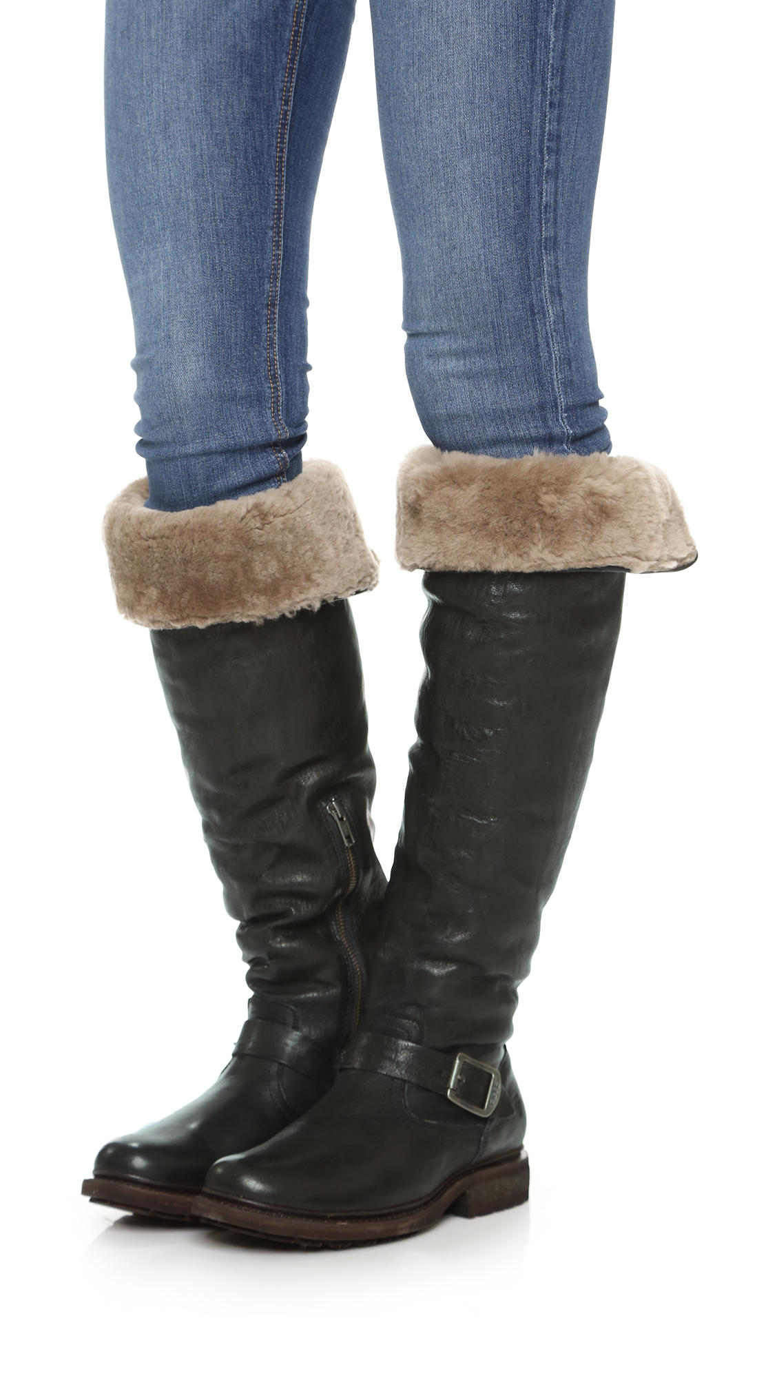 Frye Valerie Shearling Pull On Boot ML2o4a