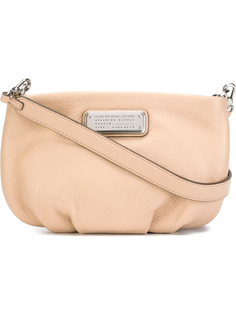 c7afc7853fd11 Marc By Marc Jacobs  new Q Percy  Crossbody Bag in Natural - Lyst