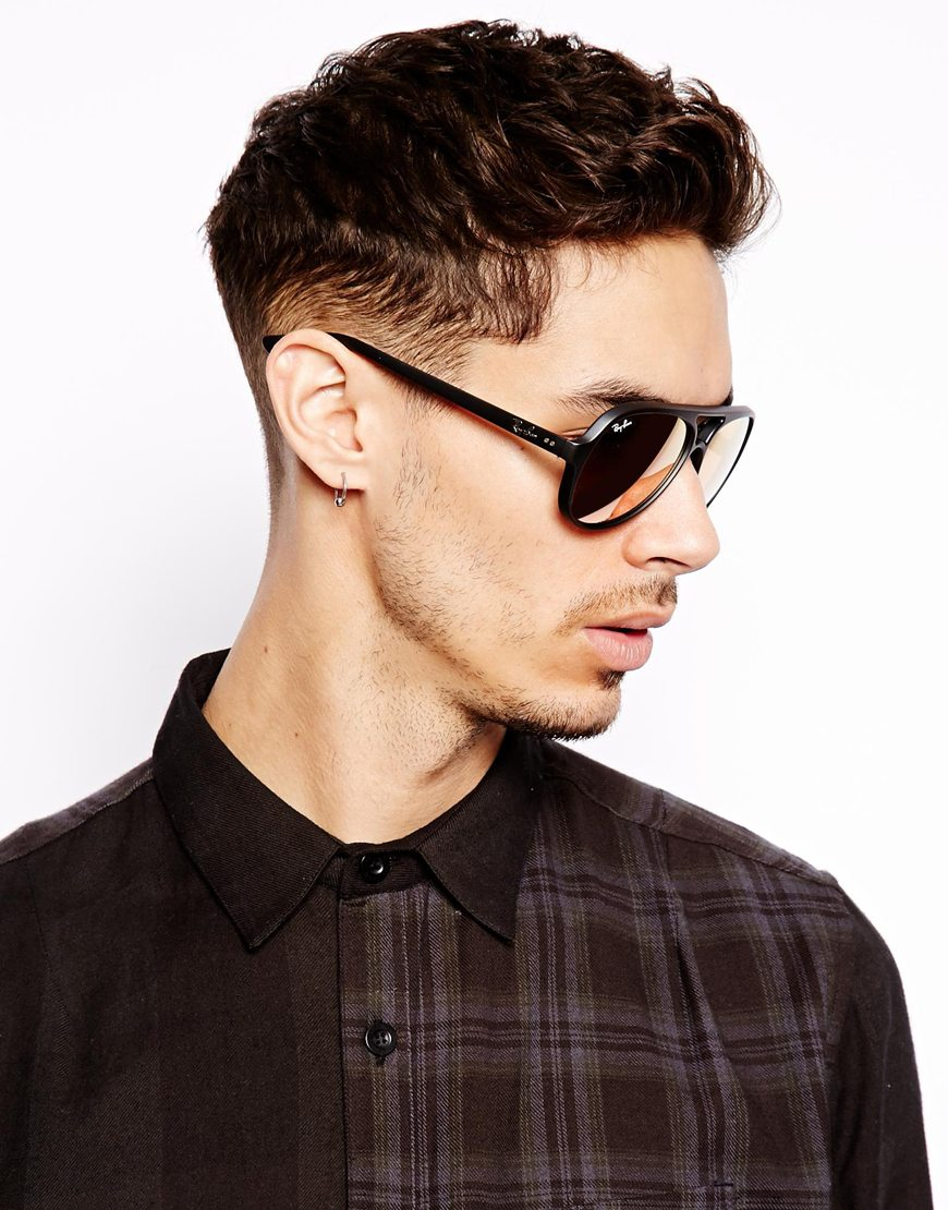 mens ray ban aviator black - Holly\'s Restaurant and Pub
