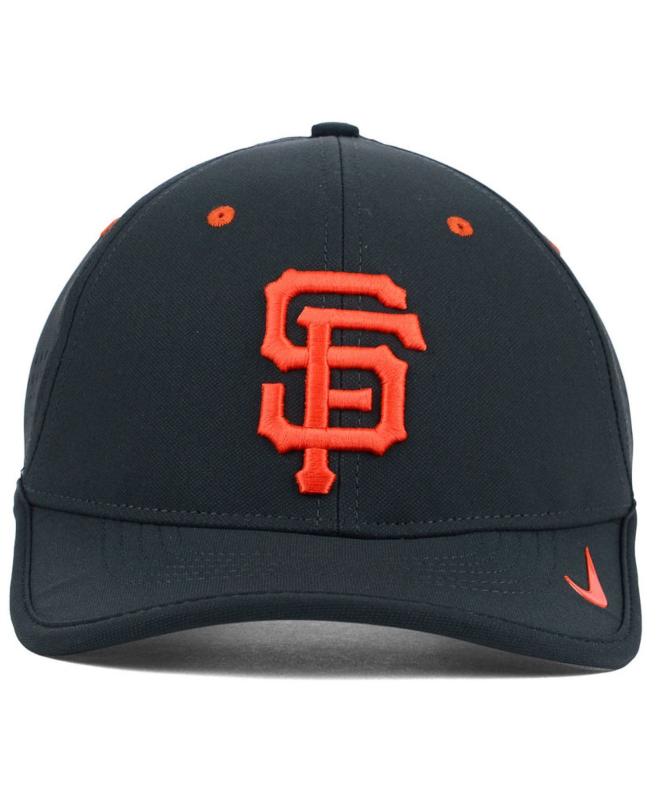 3f53f986f5bba Nike San Francisco Giants Vapor Swoosh Adjustable Cap in Gray for ...