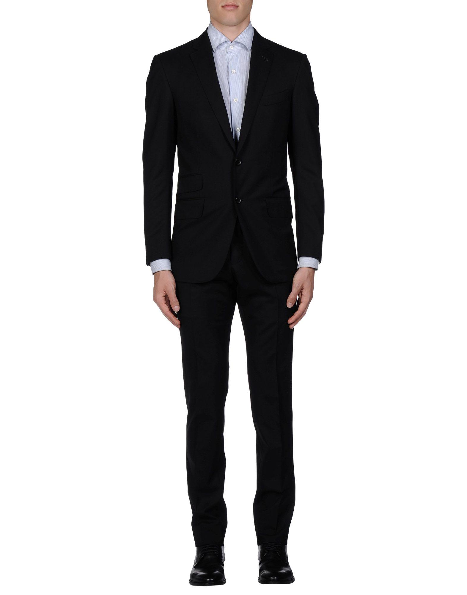 tom ford suit in black for men lyst. Black Bedroom Furniture Sets. Home Design Ideas