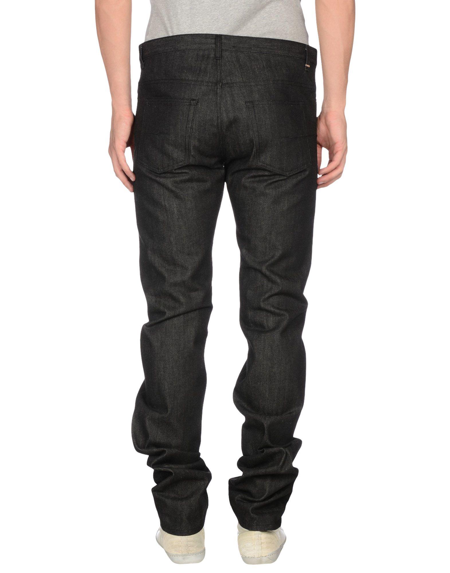 lyst dior homme denim trousers in black for men. Black Bedroom Furniture Sets. Home Design Ideas