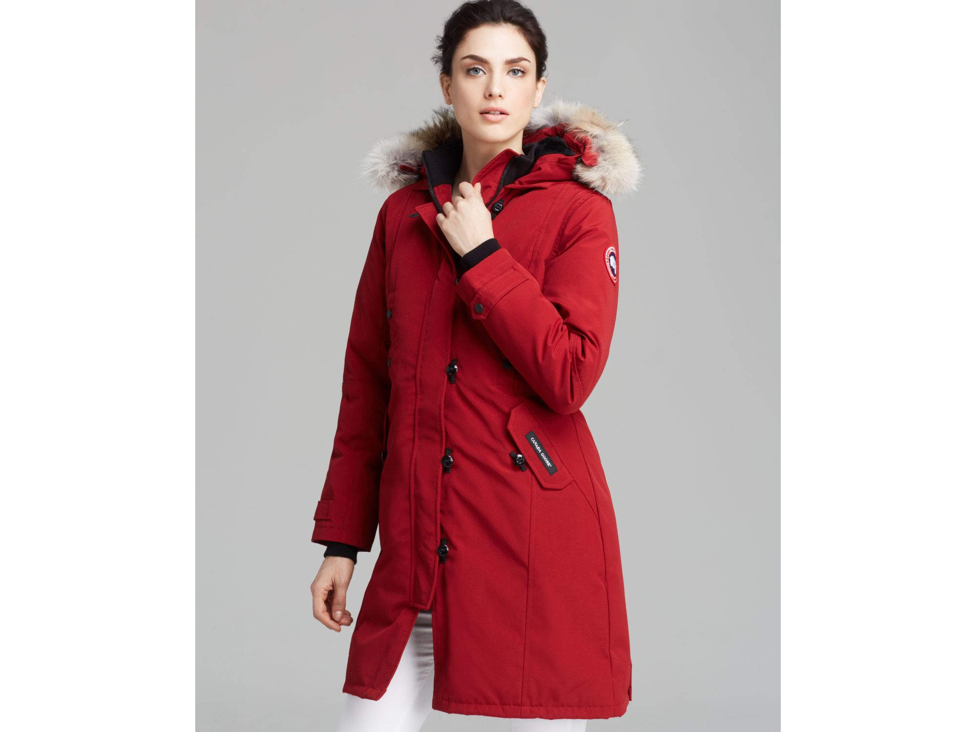 d214701bcb68 Gallery. Previously sold at  Bloomingdale s · Women s Canada Goose  Kensington ...