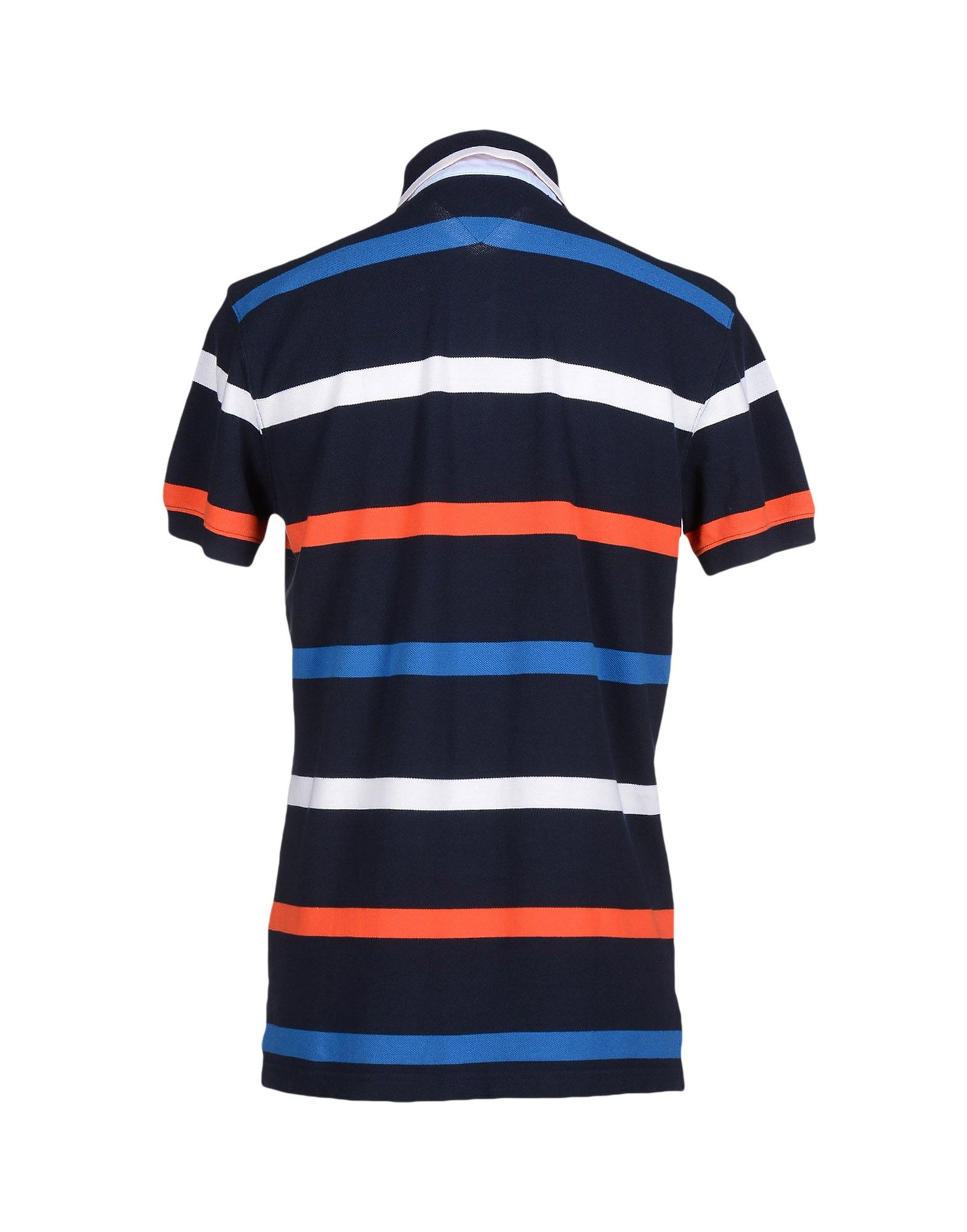 tommy hilfiger polo shirt in blue for men lyst. Black Bedroom Furniture Sets. Home Design Ideas