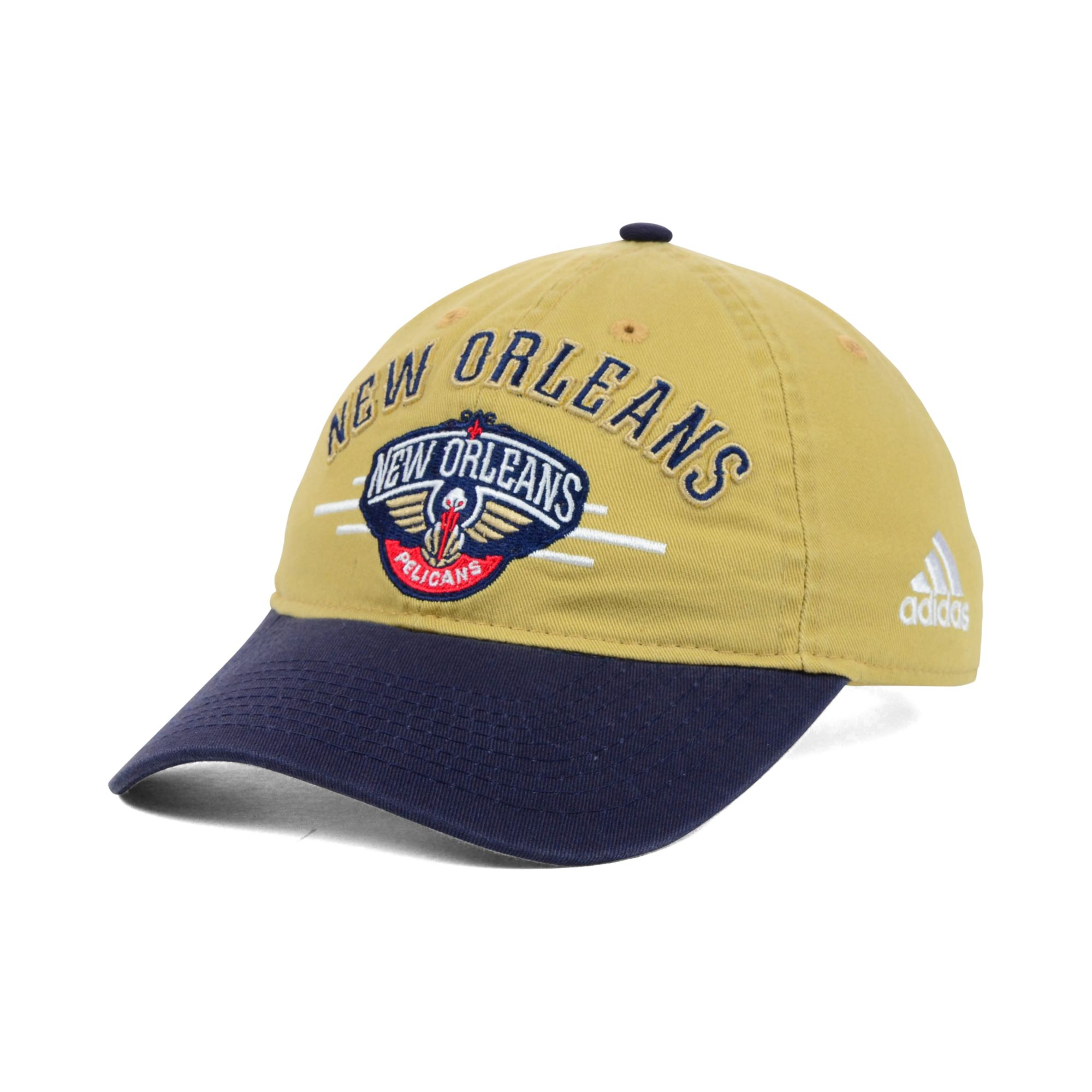 detailed look ba874 9d6ff ... nba structured basic flex cap 12936 9aef5  uk adidas new orleans  pelicans 2t slouch cap in blue for men lyst fbe70 dd852