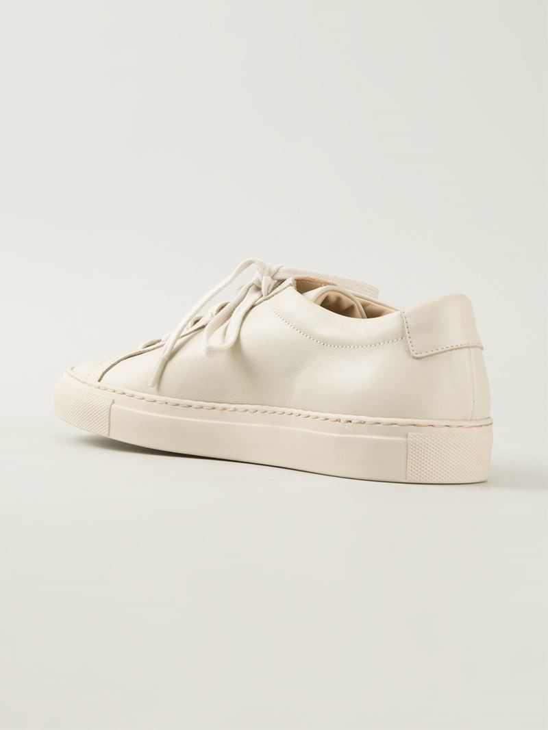 cdde78af29b2 Lyst - Common Projects  Achilles  Low Top Sneakers in Natural