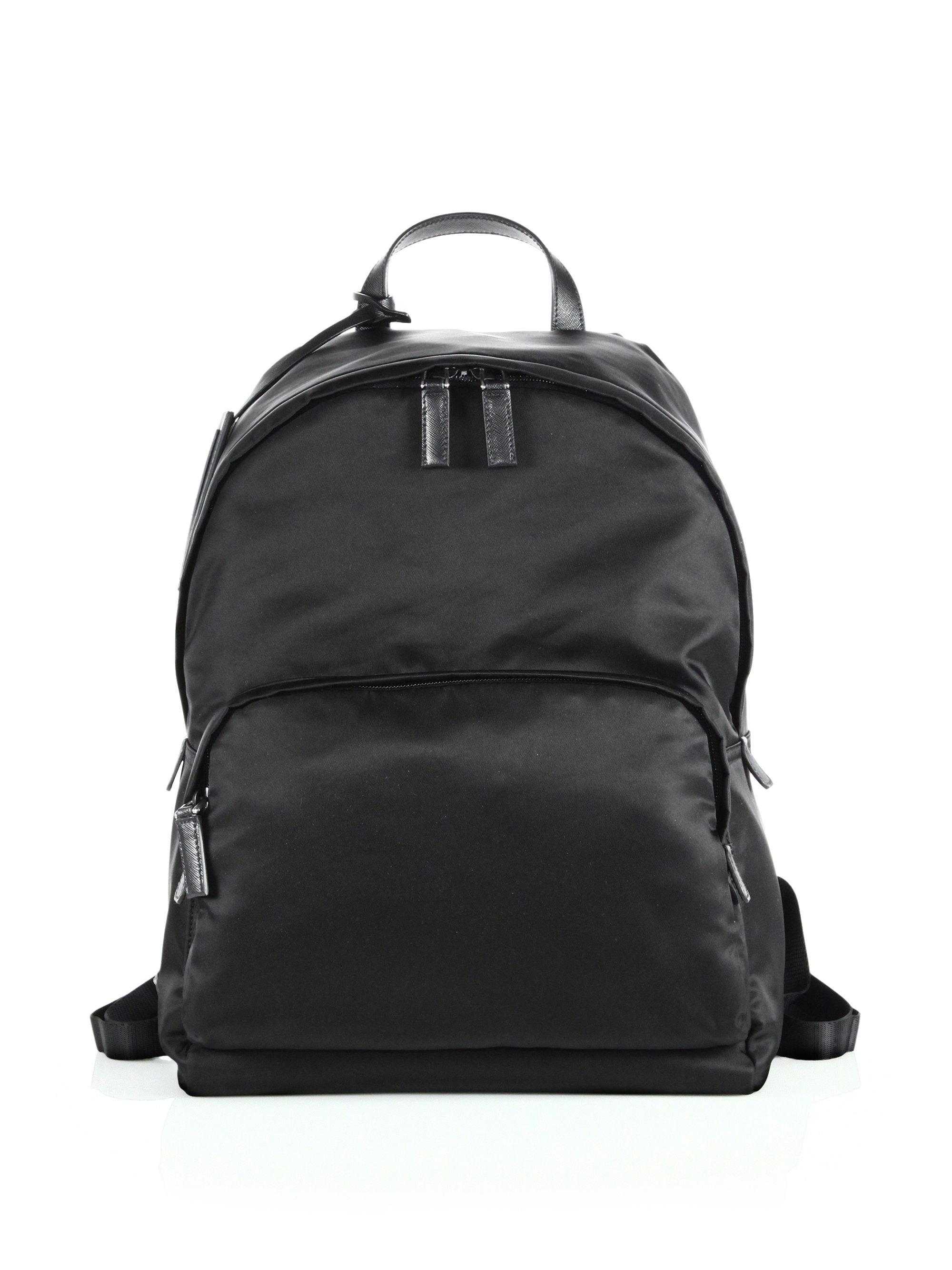d7321d8429d5 ... australia lyst prada zaino backpack in black for men 7c3d7 c6114