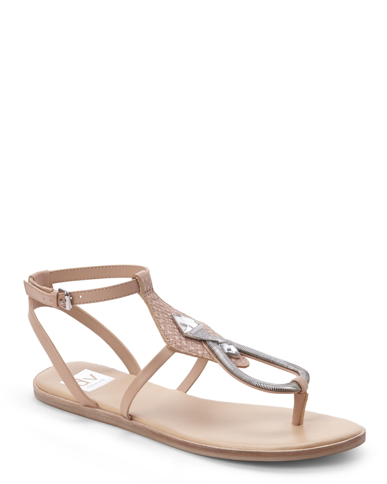 f0d4d1c7028e32 Lyst - Dv By Dolce Vita Pink Cayla Flat Sandal in Pink