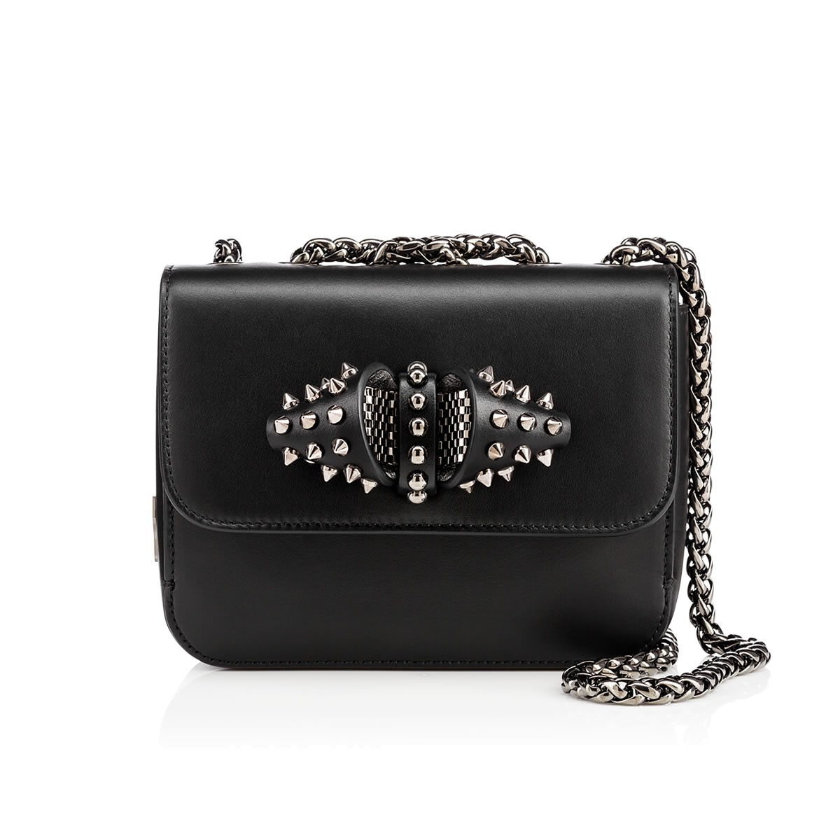 1d49ff7166bf Lyst - Christian Louboutin Sweet Charity Baby Chain Bag in Black