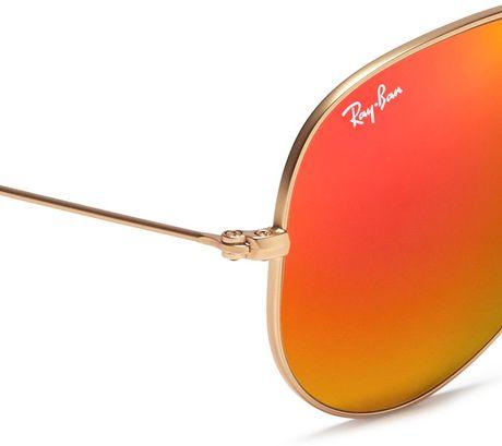 Orange Ray Ban Sunglasses