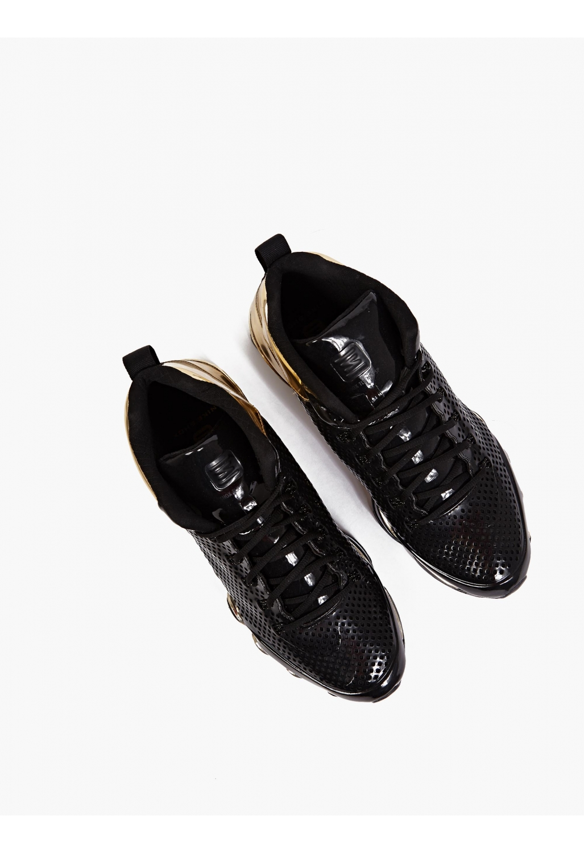 Nike Shox Black Suede