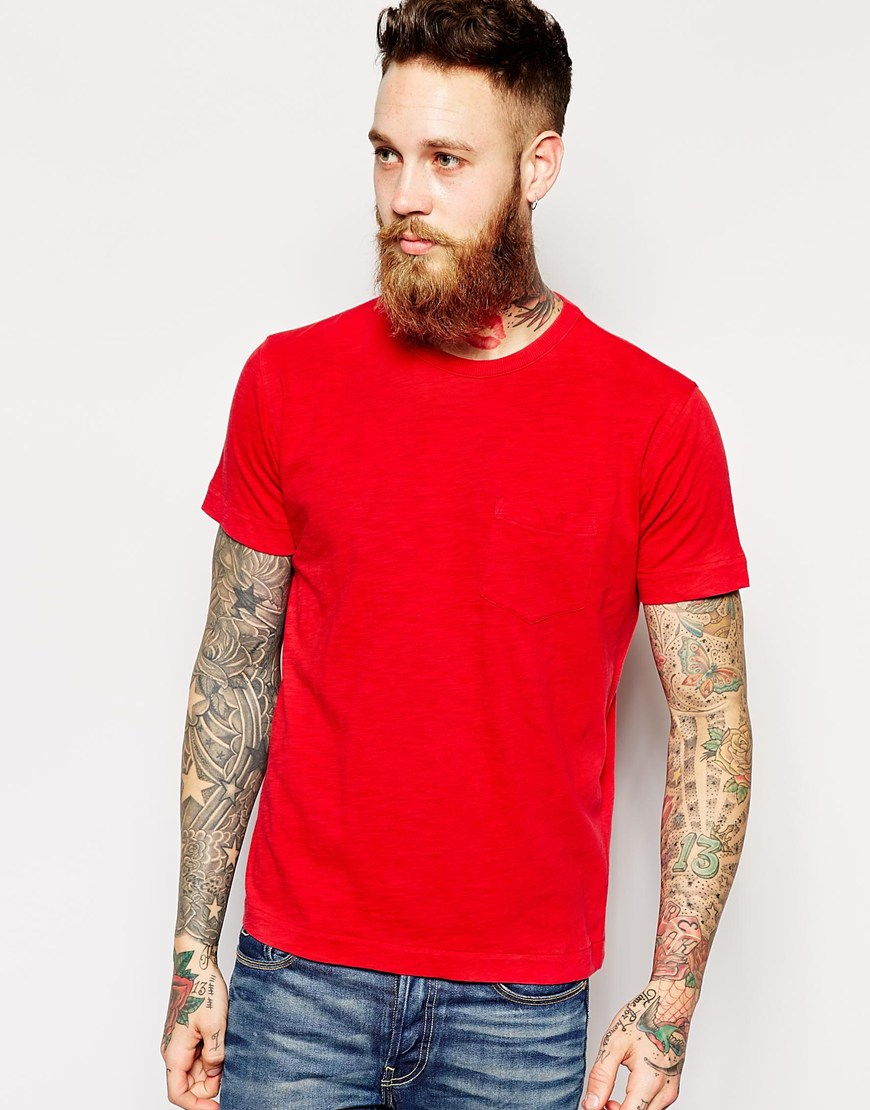 5c6100aebd3 Men Red T Shirt - Shirt N Pants